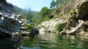 River in Cevennes, France
